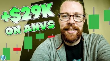 +$29k on (NYSE:ANVS)   Recap by Ross Cameron