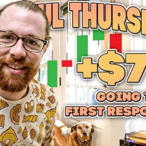 +$7k Going to First Responders | Recap by Ross Cameron