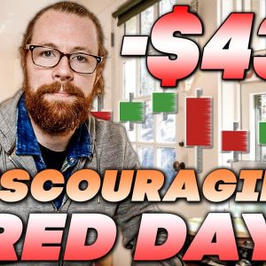 Discouraging Red Day -$43k | Recap by Ross Cameron