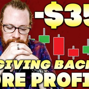 Giving Back More Profits -$35k | Recap by Ross Cameron