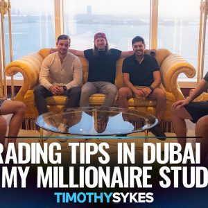 Live Trading Session in Dubai With 3 Top Students