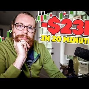 -$23k in 20 Minutes | Recap by Ross Cameron