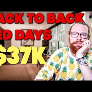 Back to Back Red Days -$37k | Recap by Ross Cameron