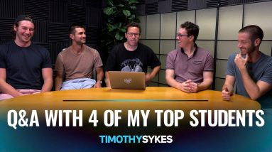 Q&A With 4 Of My Top Students - 8 New Trader Tips
