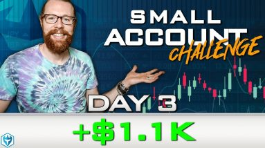 Small Account Challenge Day 3 +$1.1k | Recap by Ross Cameron