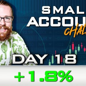 Day 18 of My New Small Account Challenge | Recap by Ross Cameron