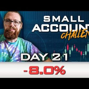 Day 21 of My New Small Account Challenge | Recap by Ross Cameron