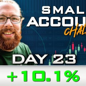 Day 23 of My New Small Account Challenge | Recap by Ross Cameron