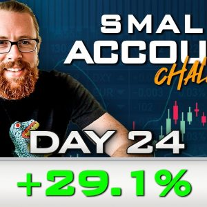 Day 24 of My New Small Account Challenge | Recap by Ross Cameron