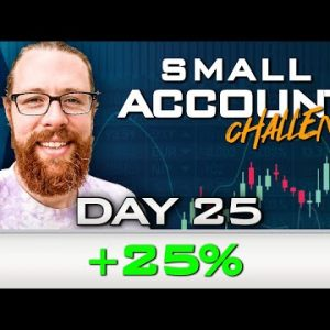 Day 25 of My New Small Account Challenge | Recap by Ross Cameron