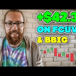 +$42.3k Day Trading $FCUV and $BBIG | Recap by Ross Cameron