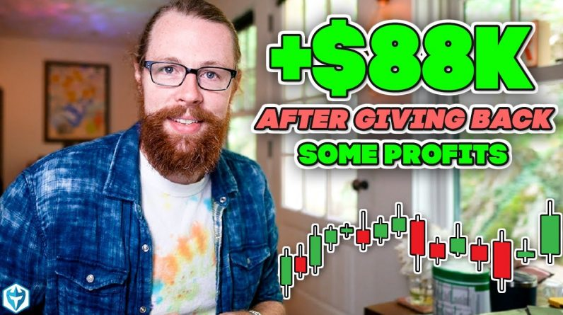 +$88k After Giving Back Some Profits | Day Trading Recap by Ross Cameron