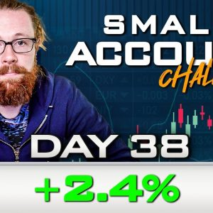 Day 38 of My New Small Account Challenge | Recap by Ross Cameron