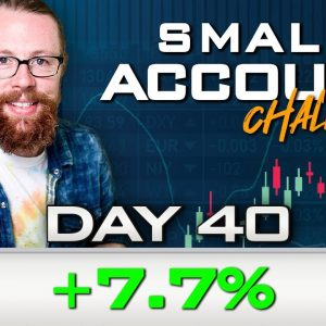 Day 40 of My New Small Account Challenge | Recap by Ross Cameron