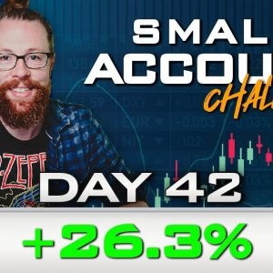 Day 42 of My New Small Account Challenge | Recap by Ross Cameron