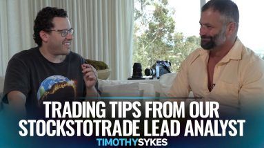 Trading Tips From Our StocksToTrade Lead Analyst