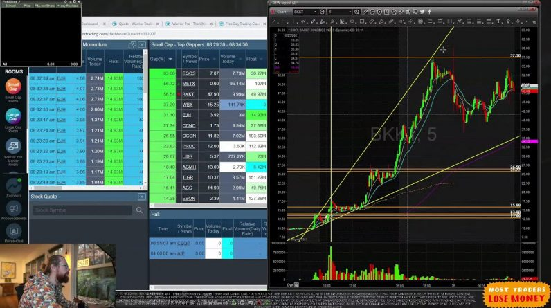 LIVE Day Trading Morning Show with Ross Cameron