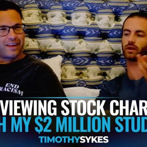 Reviewing Stock Charts With My $2 Million Student