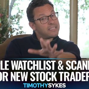 Simple Watchlist and Scanners For New Stock Traders